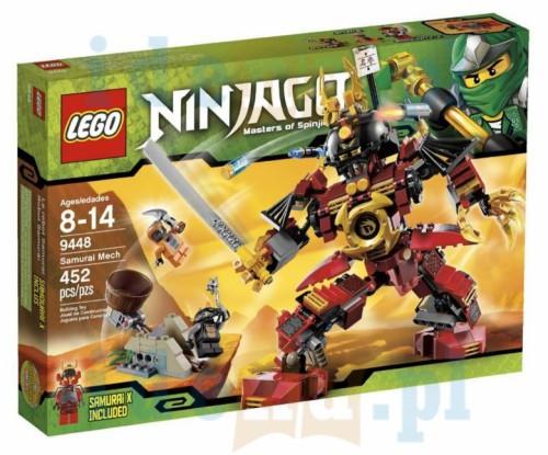 Lego Ninjago 9448 Samuraj Mech Księgarnia Internetowa Idenapl